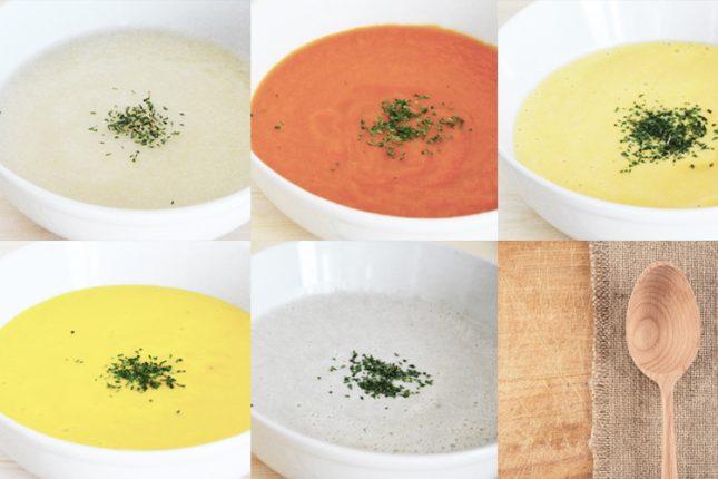 【旬野菜が簡単ポタージュに♡】プロに聞く、ミキサーで作れる時短スープレシピ・5選