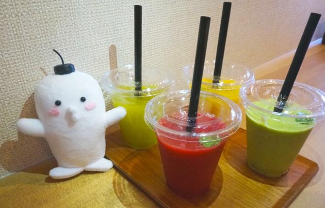 【真空ミキサーで作った真空スムージーが飲める!】松本市ジュースバー『SHUN』体験レポート!
