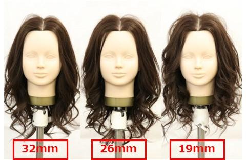 コテの太さ、どれがおすすめ?19mm・26mm・32mm、それぞれの仕上がりを徹底比較