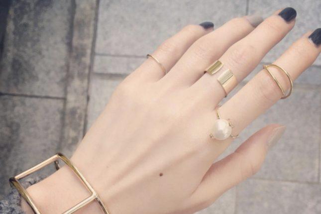 指輪の重ね付けのコツは?お洒落に見える組み合わせを店員さんに聞いてみた