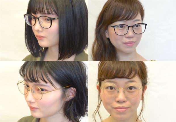 【髪の長さ別】オシャレなメガネに似合う髪型を、美容師に聞いてみた